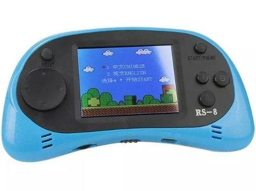 Consola videojuegos portatil rs-8, 260 juegos clásicos