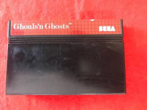Ghouls n ghost sega master