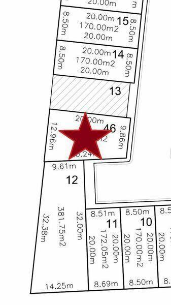 LOMAS RESIDENCIAL, Terreno en VENTA en esquina de 226.55 mt2