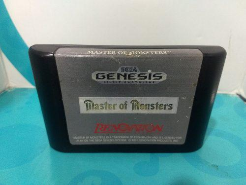 Master monsters - sega genesis - rpg