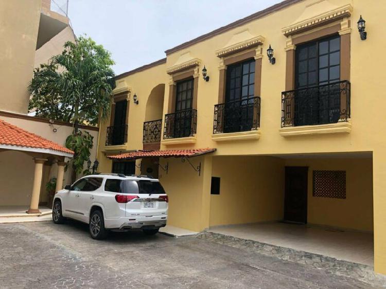 Renta casa de 4 recamaras en malibran ciudad del carmen