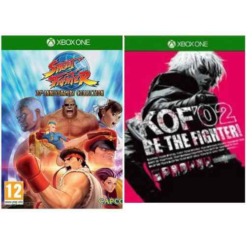 Street fighter 30 a. colletion + kof02 xbox one offline