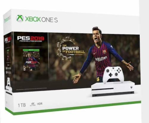 Xbox one s + 5 videojuegos + bundle pdp control y diadema