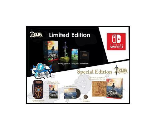 Zelda breath of the wild le (con master sword) special edit