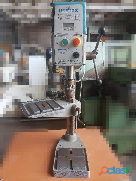 Taladro de precisión Unimax 1 de banco marcador electrónico