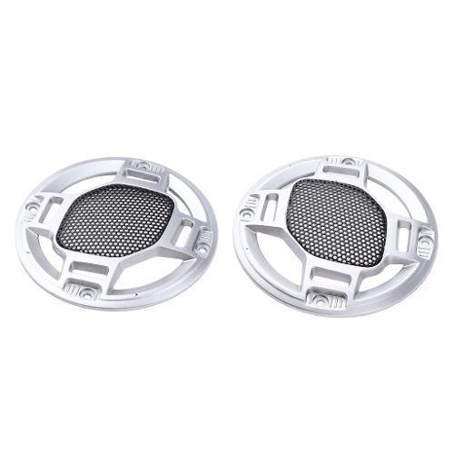 2pc 3 /// Car Speaker Net Cover Grill Waddle Woofer Cubierta