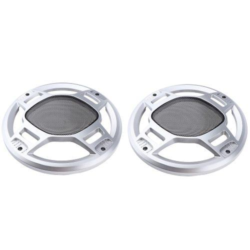 2pc 8 /// Car Speaker Net Cover Grill Waddle Woofer Cubierta