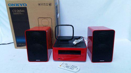 Minicomponente Onkyo Cs-265(r) Bluetooth Usb Bocina
