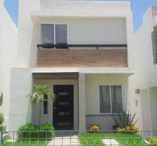 Casa en venta nueva en residencial zona norte culiacan(santa