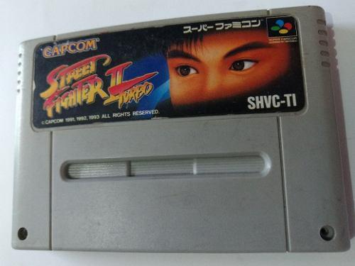 Carcasa street fighter nintendo snes videojuego cartucho