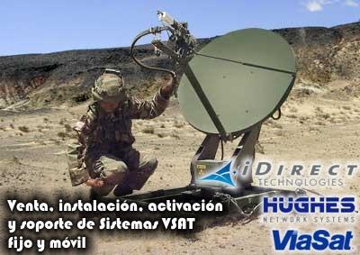 Comunicacion satelital - voz y datos