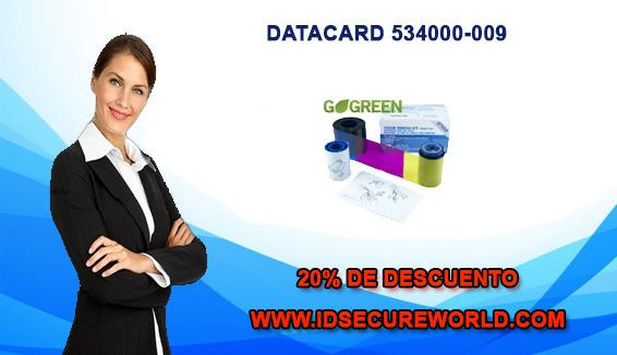Datacard 534000-009 cinta ribbon color