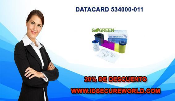 Datacard 534000-011 cinta ribbon color