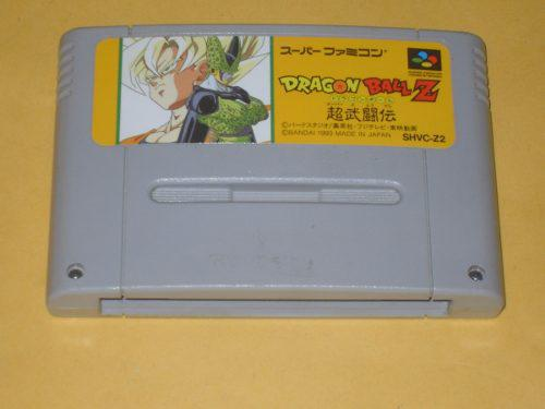 Dragon ball z super butouden super famicom snes japonés sfc
