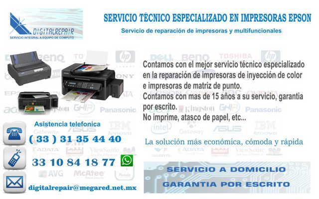 Epson, servicio de mantenimiento a multifuncionales a