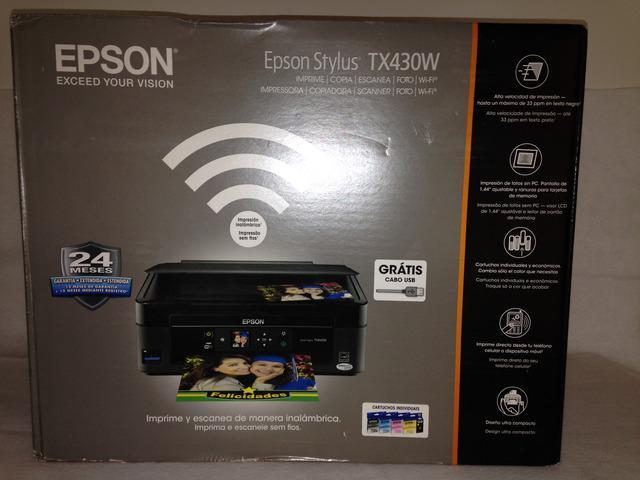 Impresora epson tx 430w (lista para sistema de tinta)