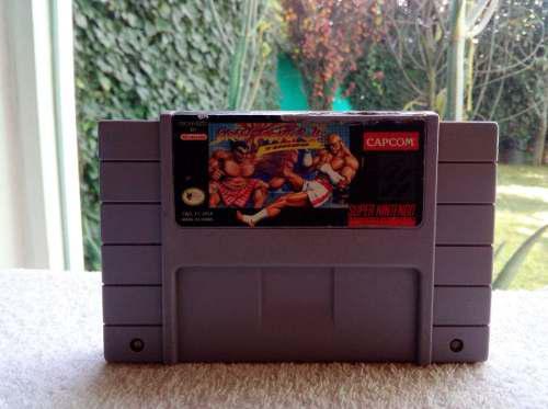 Juego Street Fighter 2 Turbo Super Nintendo Snes