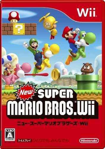 Juegos,nuevo super mario bros. wii importación japonesa..