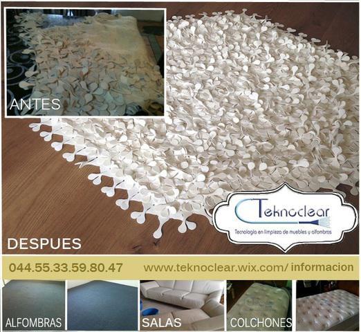 Lavado de tapetes de lana y sintéticos en el df y el estado