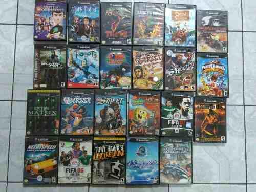 Lote de 23 juegos para nintendo gamecube