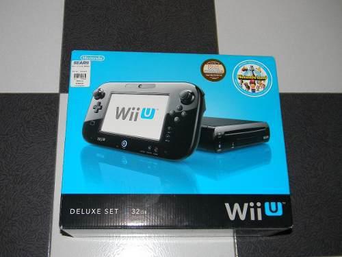 Nintendo wi u en caja + 2 juegos de regalo