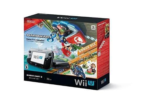 Nintendo wii u 32 gb deluxe set mario seminuevo!!!