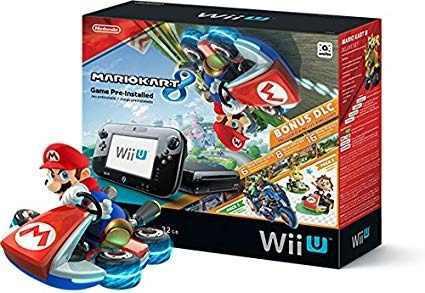 Nintendo wii u consola de mario kart 8 deluxe set con 32 gb