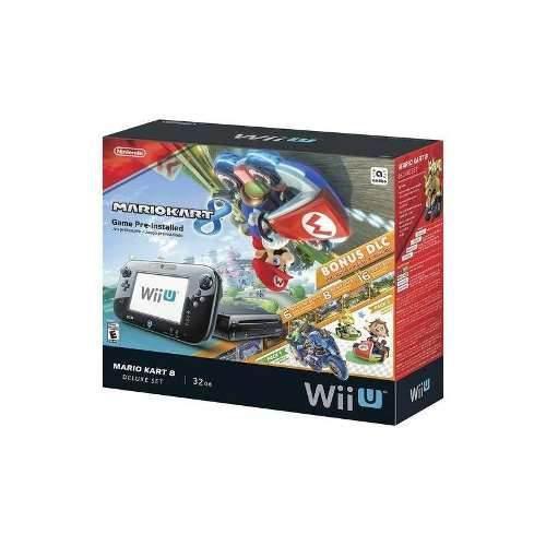 Nintendo - wii u de 32 gb de la consola deluxe set con mario