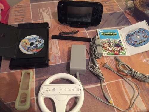 Nintendo wii u de 32 gb de la consola deluxe set con mario k