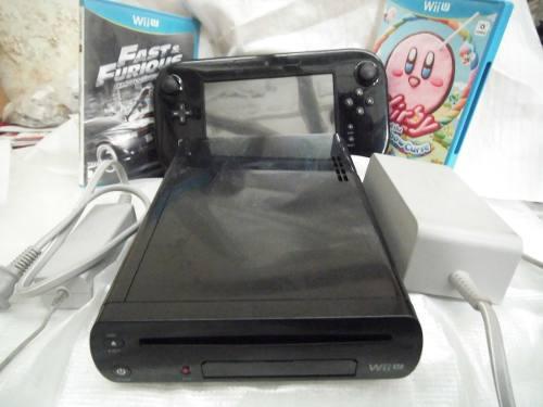 Nintendo wii u deluxe set 32gb con 2 juegos,funciona al 100.