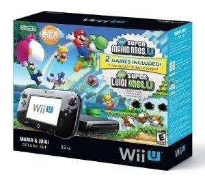 Nintendo wii u deluxe set: new super mario bros- u y new sup