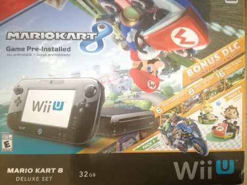 Nintendo wii u mario kart 8 deluxe set 32gb