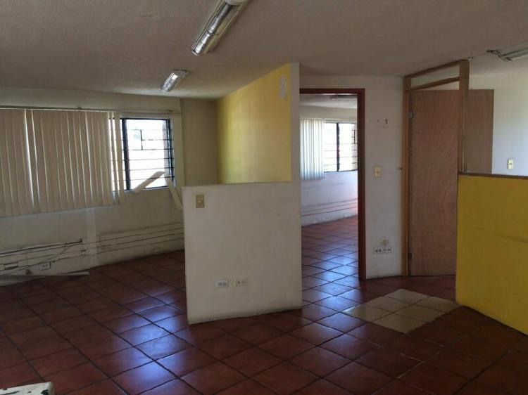 Oficina en renta amplia en 2 niveles sobre avenida colonia