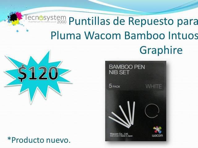 PUNTILLAS DE REPUESTO PARA PLUMA WACOM BAMBOO INTUOS segunda mano  Guadalajara (Jalisco)