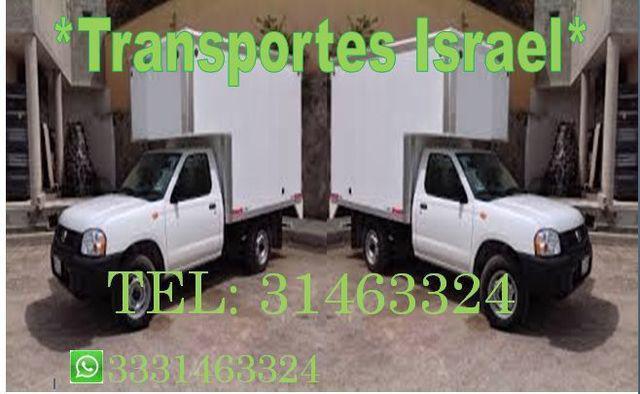 Recolecciones y envios transportes israel *31463324*