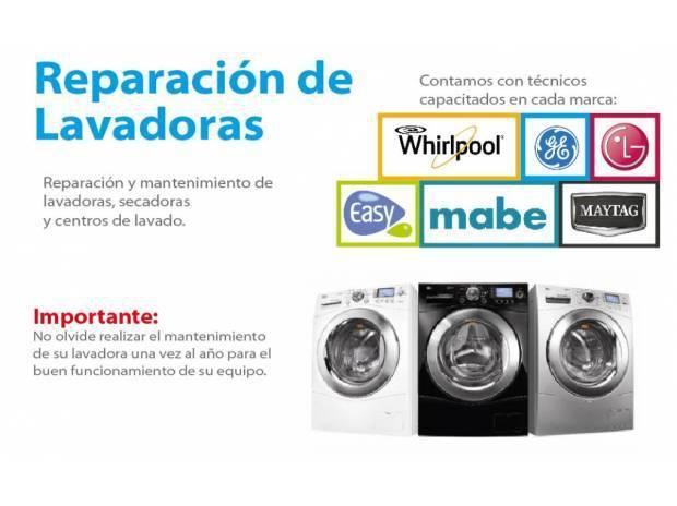 Reparación de lavadoras y refrigerados easy -- mabe