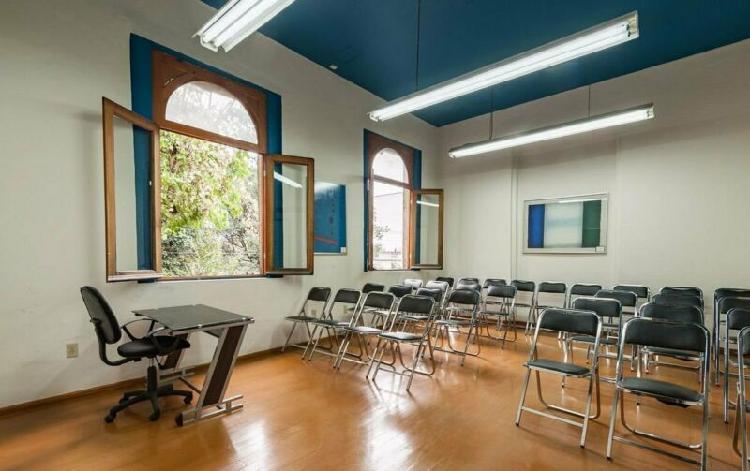 Sala de conferencia en renta en roma norte