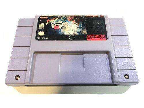 Street fighter alpha 2 super nintendo snes retromex tcvg