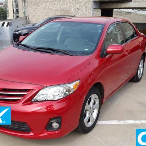 Toyota corolla 4p xle aut