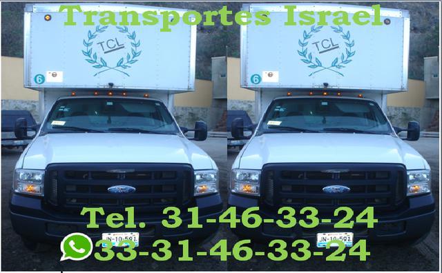 Transportes israel a toda la república