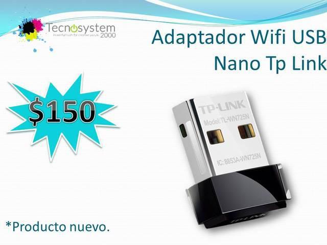 Vendo adaptador wifi usb nano tp link, jalisco.