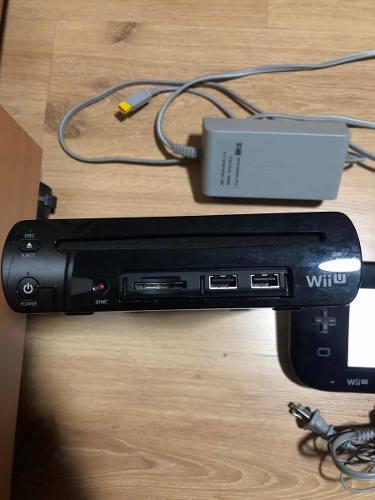 Wii u 32 gb y 7 juegos