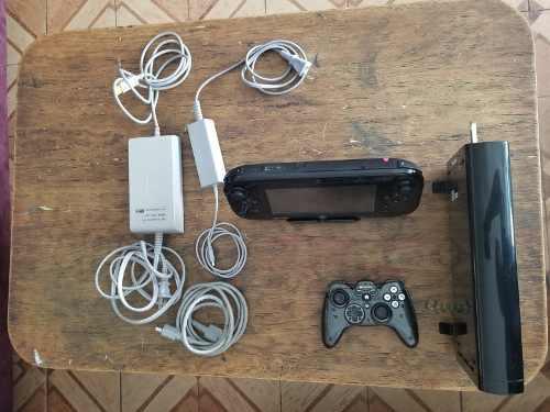 Wii U 32gb Con 9 Juegos Instalados (zelda, Mario Kart 8)