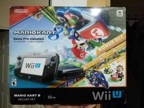 Wii U Deluxe 32gb + 500gb Externos Varios Juegos