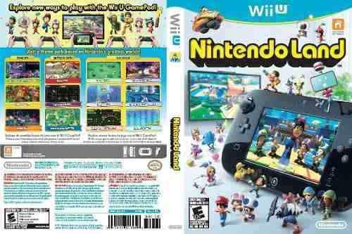 Wii u deluxe set 32 ¿¿gb negro edition con nintendo land