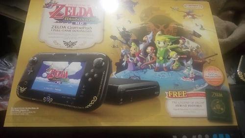 Wii u edición especial zelda windwaker 32 gb!