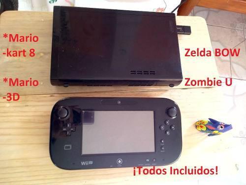 Wii u (juegos incluidos)