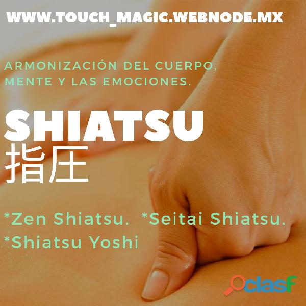 Masaje shiatsu. una experiencia muy placentera.