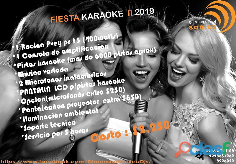 Servicios de karaoke