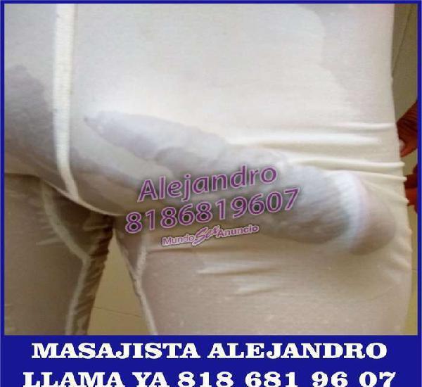 Alejandro Acompañante y Masajista 24 hrs